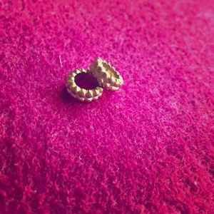 Brighton Gold Tone and White Charms